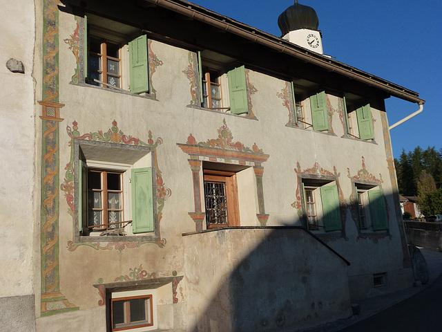Maison de Fuldera (Val Mustair)