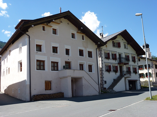 Maisons de Fuldera (Val Mustair)