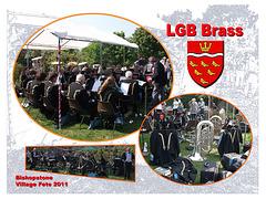 LGB Brass Bishopstone Village Fete 30 4 2011