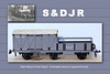 SDJR motive power department stores & equipment wagon from model photo