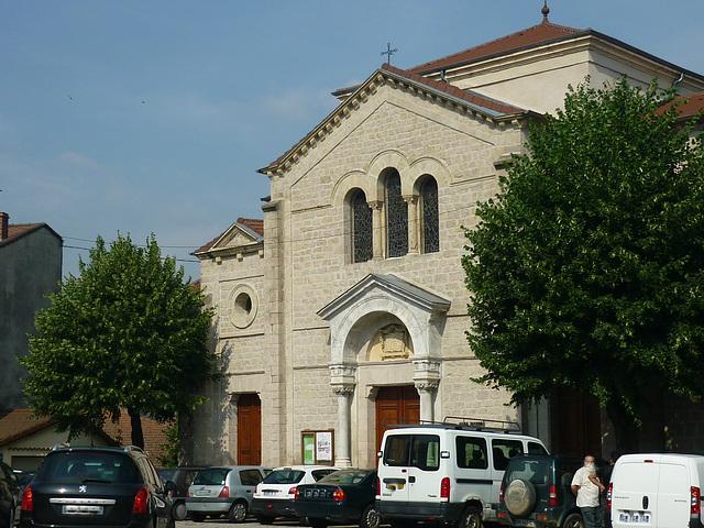 Temple protestant à Lamastre