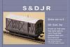 SDJR 6 wheeled Goods brake / Mail van 4mm/1ft model