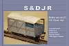 SDJR 4-wheeled Goods brake model