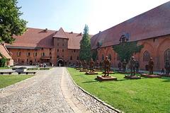 das Ordensschloss Marienburg