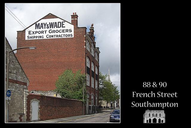 88 & 90 French Street - Southampton - 20.5.2005