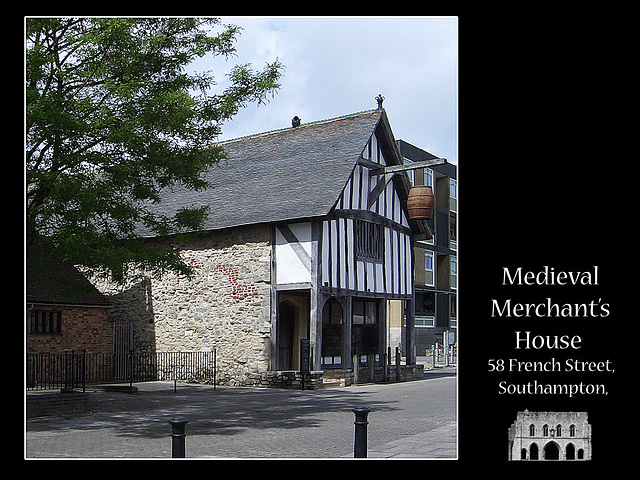Merchant's house - French Street - Southampton - 20.5.2005