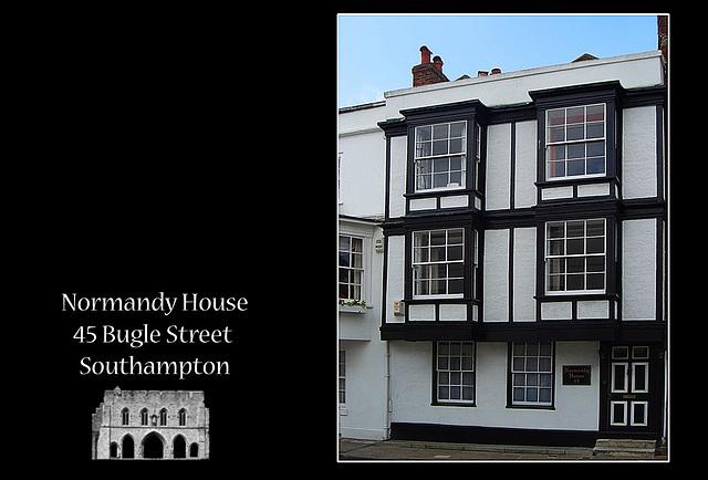 Normandy House, 45 Bugle Street - Southampton  - 20.5.2005
