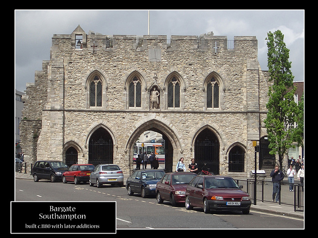The Bargate - Southampton  - 20.5. 2005