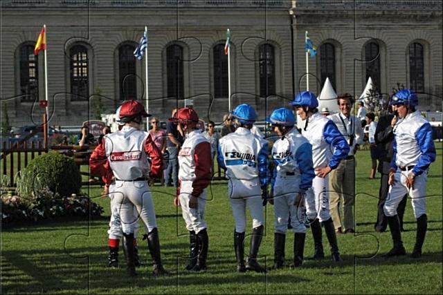 Entre jockeys et cavaliers