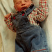 Colin, Dressed To Kill At 7 Hours Old