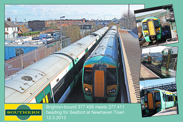 377 458 & 411 Newhaven 12 3 2013