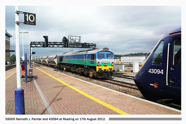 59005 Kenneth J Painter and 43094 - Reading - 17.8.2012