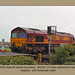 EWS 66133 - track repairs - Seaford branch - East Sussex - 14.11.2010
