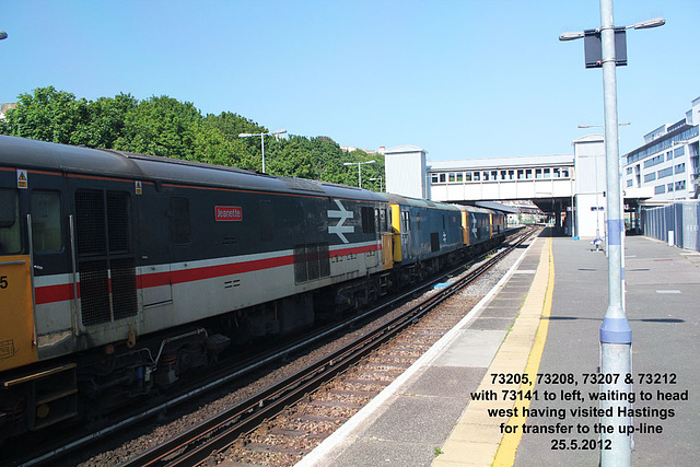 73205, 73208, 73207 & 73212 Hastings Station 25 5 2012 a1