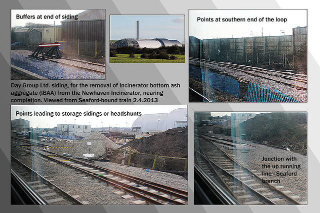 Days Group siding - Newhaven - 2.4.2013