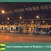 East Coastway trains at Brighton  1 12 2012