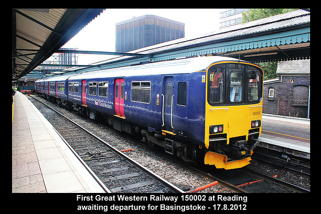 FGW 150002 Reading 17 8 2012