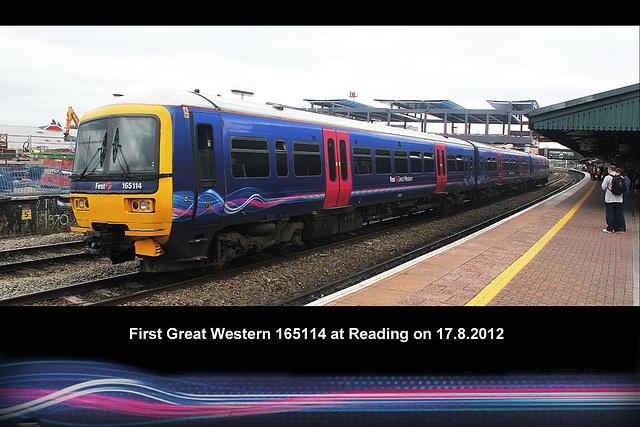 FGW 165114 Reading 17 8 2012