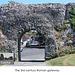 Pevensey Castle - The Roman East Gate - 24.7.2013