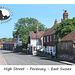High Street - western end - Pevensey - 24.7.2013