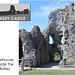 Pevensey Castle - The inner bailey gatehouse, seen from inside - 24.7.2013