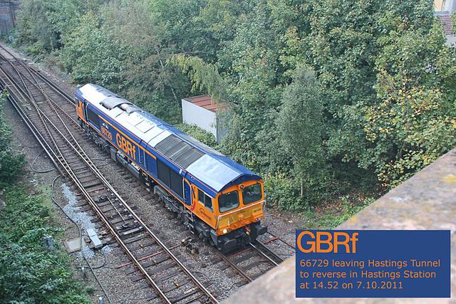 GBRf 66729 - Hastings - 7.10.2011