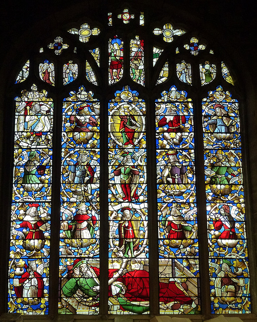 llanrhaeadr church, clwyd