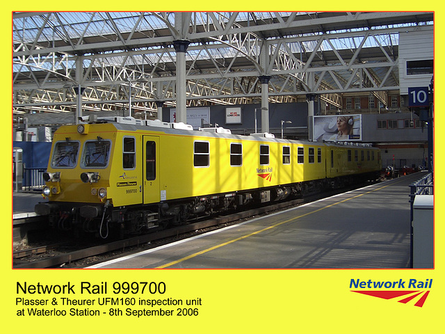 Network rail inspection unit at Waterloo - 8.9.2006