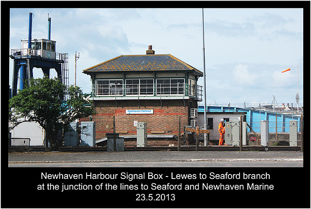 Newhaven Harbour Signal Box - 23.5.2013