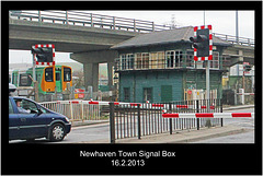 Newhaven Town Signal Box - 16.2.2013