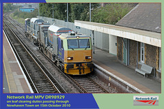 NRail MPV DR98929 Newhaven Town 15 10 10
