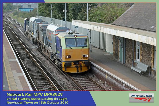 NRail MPV DR98929 Newhaven Town 15 10 10