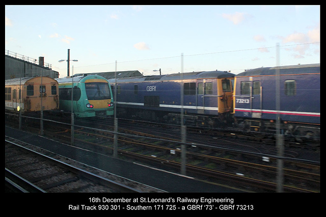 On shed at St Leonards 16 12 2011