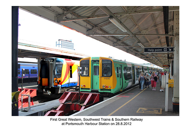 Portsmouth Harbour Station 28 8 2012