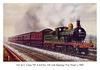 "SE&C Class D 4-4-0 no. 145 on Hastings ""Car Train"" c1905"