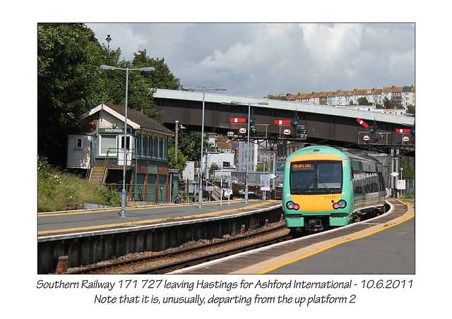 Southern 171 727 Hastings 10 6 2011
