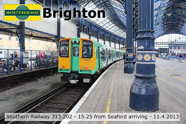 Southern 313 202 Brighton 11 4 2013