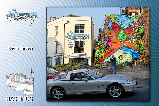 St Andrews Mews - Hastings - 23.3.2012
