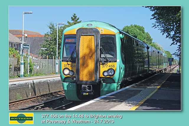 Southern 377 458 Pevensey & Westham 24 7 2013