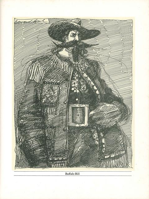 Buffalo Bill Cody by Edward Sorel