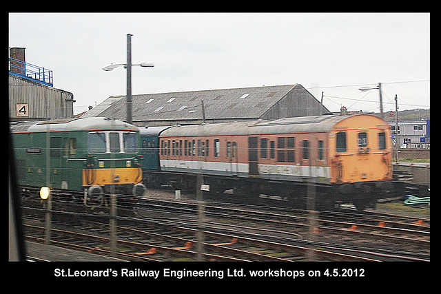 St Leonard's Railway Engineering 4 5 2012