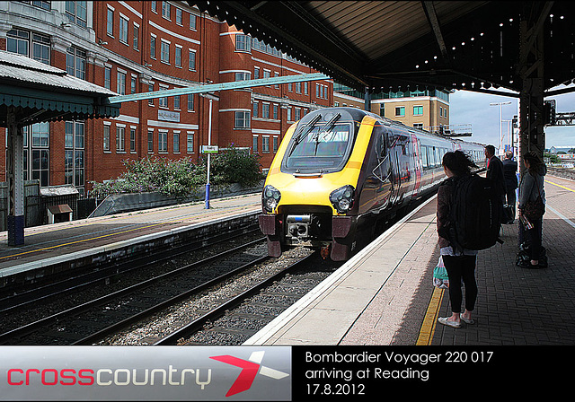 X Country Voyager 220 017 Reading 17 8 2012