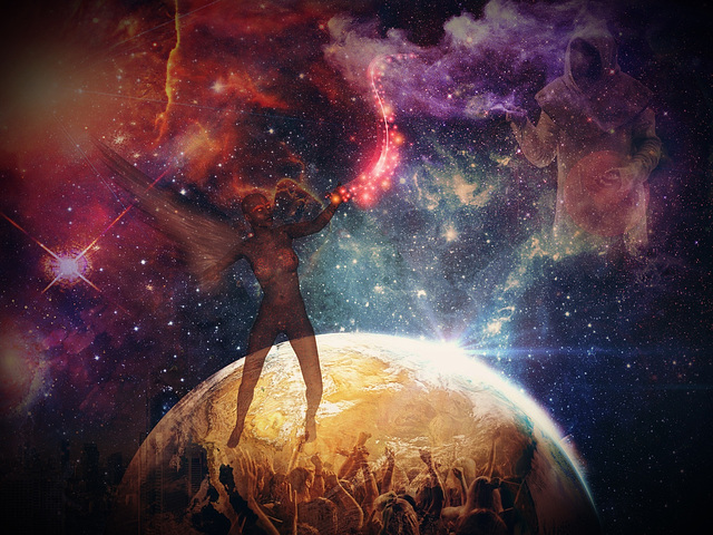 Un monde..Assez grand pour tout le monde .....