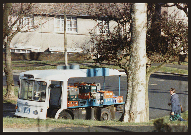 co-op milk float
