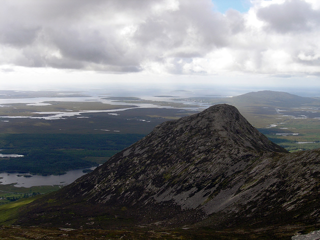 paysage du Connemara -Irlande