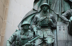 Liverpool News Room War Memorial, Exchange Flags, Liverpool, By Joseph Philips (1924)