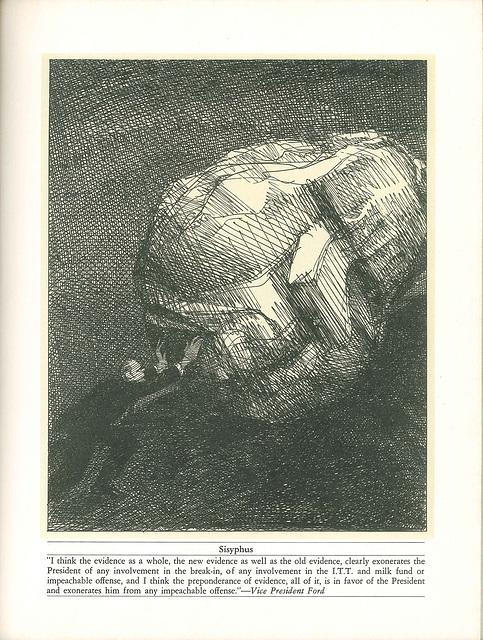 Sisyphus by Edward Sorel