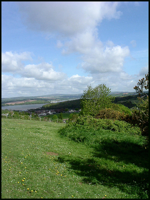 view from school field