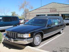 1995 or 1996 Cadillac Fleetwood Hearse