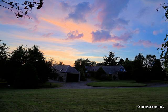 Sunday Evening Skies